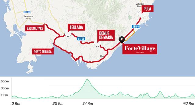 Cartina Sardegna Pula.Challenge Forte Village Triathlon 2017 Santa Margherita Di Pula 28